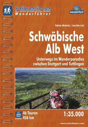 Schwabische Alb West Wanderfuhrer