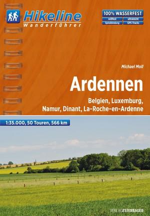 Ardennen Wanderfuehrer Belgien, Luxemburg, Namur, Dinant, La-roche-en-ardenne