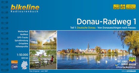 Donau - Radweg 1 Donaueschingen nach Passau GPS