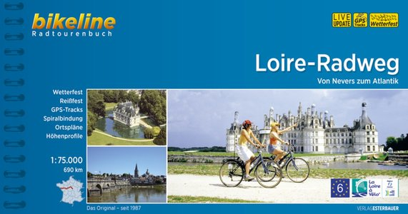 Loire Radweg von Nevers zum Atlantik fietsgids