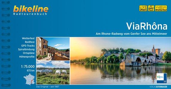 ViaRhôna - Am Rhone-Radweg vom Genfer See ans Mittelmeer