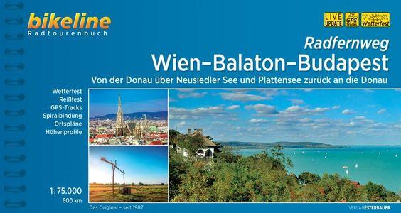 Wien - Balaton - Budapest Radfernweg - Bikeline fietsgids