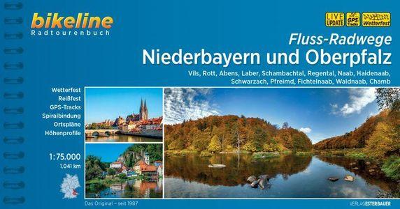 Niederbayern und Oberpfalz Fluss-Radwege