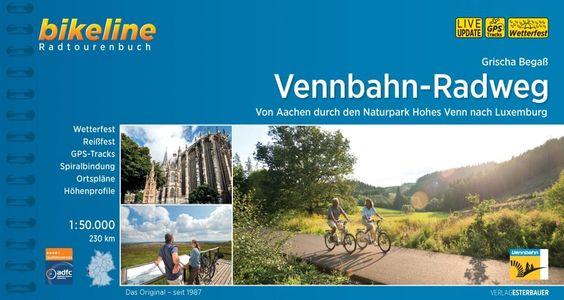 Vennbahn - Radweg Bikeline fietsgids