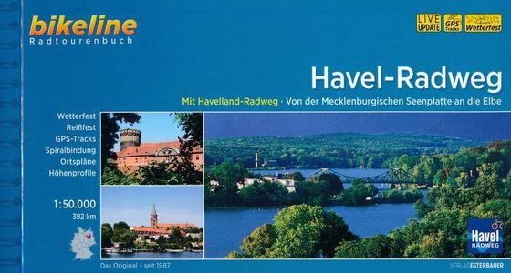 Havel-Radweg von der Mecklenburgischen Seenplatte an die Elbe 392 km - Bikeline Radtourenbuch
