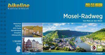 Mosel Radweg von Metz an den Rhein
