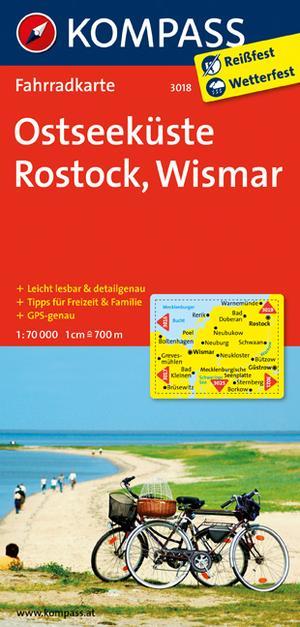 Kompass FK3018 Ostseeküste, Rostock, Wismar