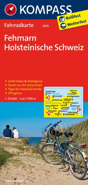 Kompass FK3016 Fehmarn, Holsteinische Schweiz