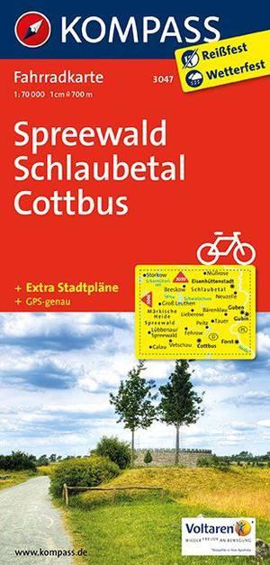 Kompass FK3047 Spreewald, Schlaubetal, Cottbus