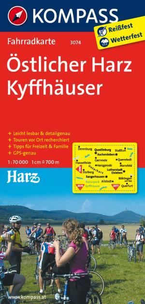 Kompass FK3074 Östlicher Harz, Kyffhäuser