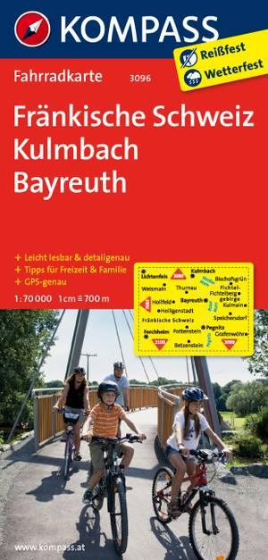 Kompass FK3096 Fränkische Schweiz, Kulmbach, Bayreuth