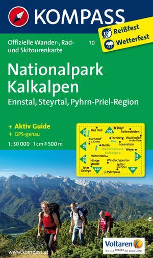 Kompass WK70 Nationalpark Kalkalpen