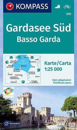 Kompass WK695 Basso Garda / Gardameer Zuid