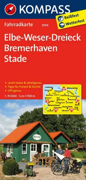 Kompass FK3006 Elbe-Weser-Dreieck, Bremerhaven, Stade