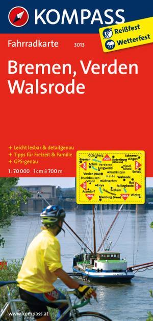 Kompass FK3013 Bremen, Verden, Walsrode