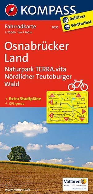 Kompass FK3035 Osnabrücker Land, Naturpark Terra Vita, Nördlicher Teutoburger Wald