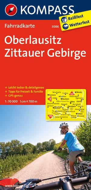 Kompass FK3086 Oberlausitz, Zittauer Gebirge