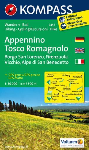 Kompass WK2453 Appennino Tosco-Romagnolo