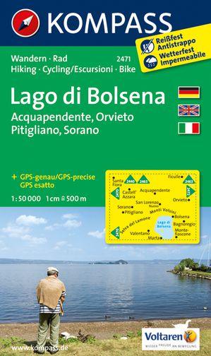 Kompass WK2471 Lago di Bolsena