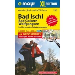 Bad Ischl 1:25.000 Wander-rad-mtb