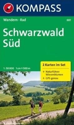 Kompass WK887 Schwarzwald Süd