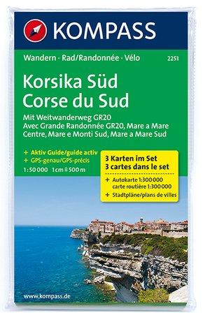 Kompass WK2251 Corsica Zuid