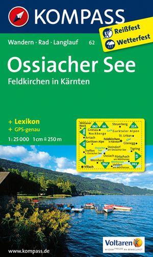 Kompass WK62 Ossiacher See, Feldkirchen in Kärnten