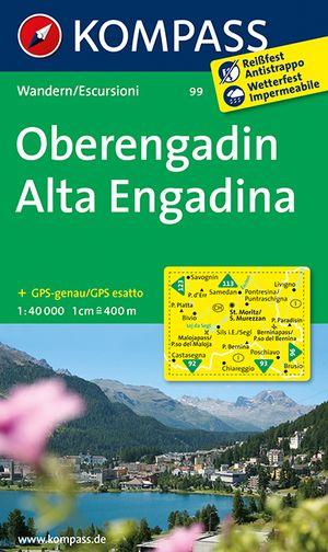 Kompass WK99 Oberengadin