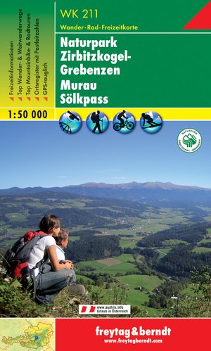 F&B WK211  Nationalpark Zirbitzkogel, Grebenzen, Murau, Sölkpass