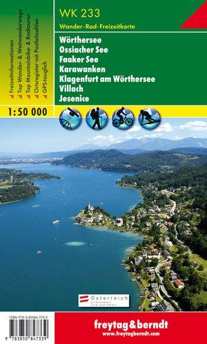 F&B WK233 Wörthersee, Ossiacher See, Faaker See, Karawanken, Klagenfurt am Wörthersee, Villach, Jesenice