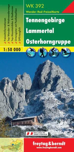 F&B WK392 Tennengebirge, Lammertal, Osterhorngruppe