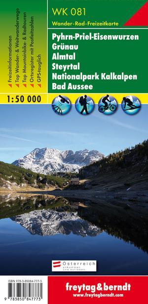 F&B WK081 Pyhrn-Priel-Eisenwurzen, Grünau, Almtal, Steyrtal, Nationalpark Kalkalpen, Bad Aussee