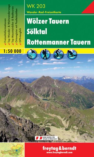 F&B WK203 Wölzer Tauern, Sölktal, Rottenmanner Tauern