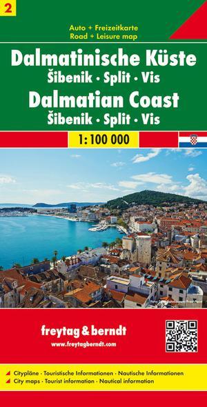 F&B Dalmatische kust 2, Šibenik, Split, Vis