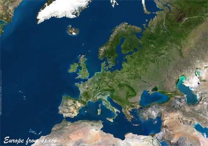Europa Satelliet Plano Geospace