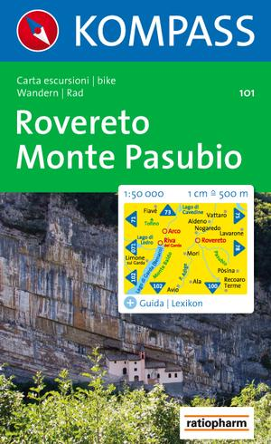 Kompass WK101 Rovereto-Monte Pasubio