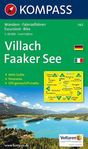 Kompass WK062 Villach, Faaker See