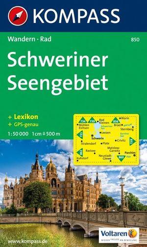 Kompass WK850 Schweriner Seengebiet