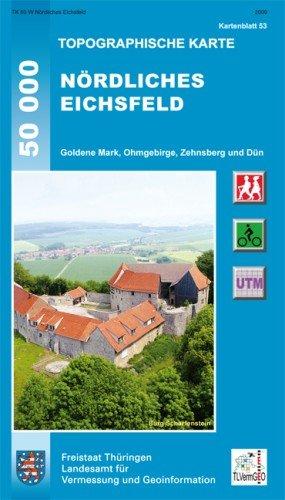 Nordliches Eichsfeld (53) 1:50.000