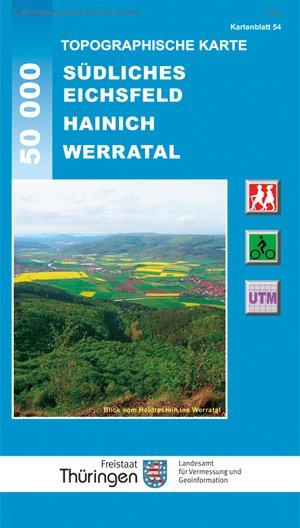 Sudl. Eichsfeld Hainich Werratal 1:50.000
