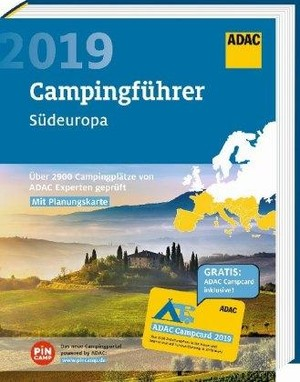 ADAC Campingführer Süd 2019: ADAC Campingführer Südeuropa 2019