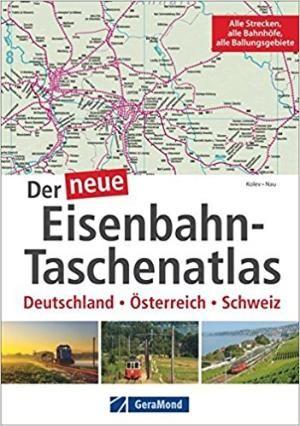 Eisenbahn Taschenatlas Geramond Bruckman