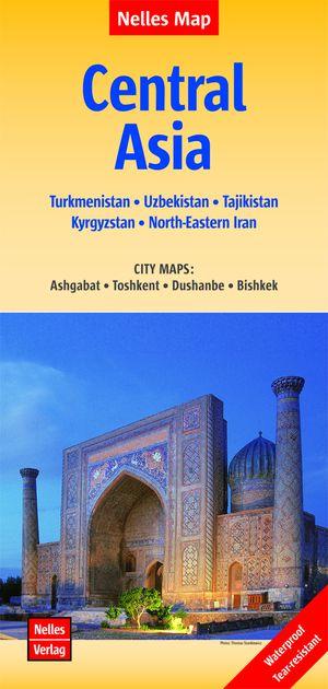 Central Asia Turkmenistan-uzbekistan-kyrgyzstan