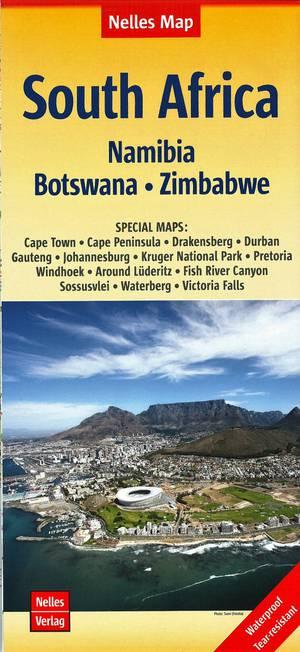 Zuid-Afrika - Afrika Zuidelijk Namibië-Botsw.-Zimb.