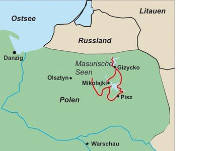 38 Polen Kanutouren In Masuren C.stein