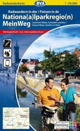 Np Meinweg Radwandern Heft+karte 1:50d