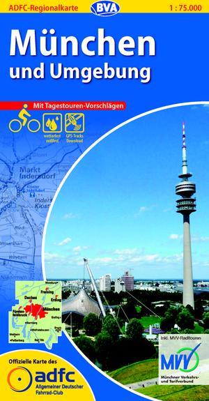 München & omg. fietskaart