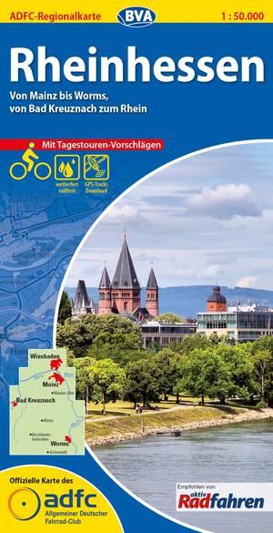Rheinhessen fietskaart