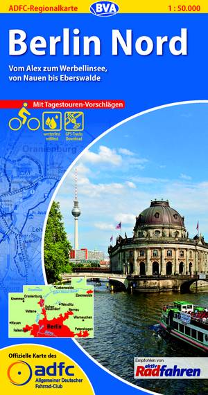 Berlijn Noord fietskaart