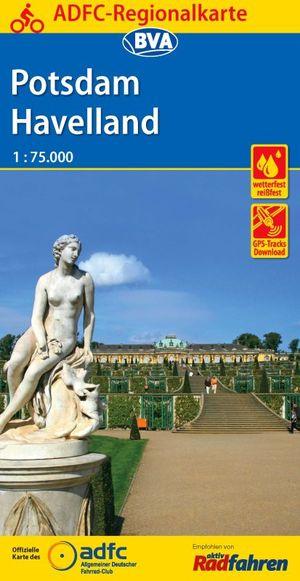 Potsdam / Havelland fietskaart